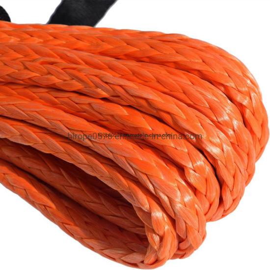 Strong Fiber Winch Rope UHMWPE/Hmpe Rope Mooring Rope