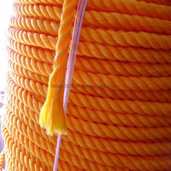 Twisted Marine Mooring PP /PE Rope Towing Rope